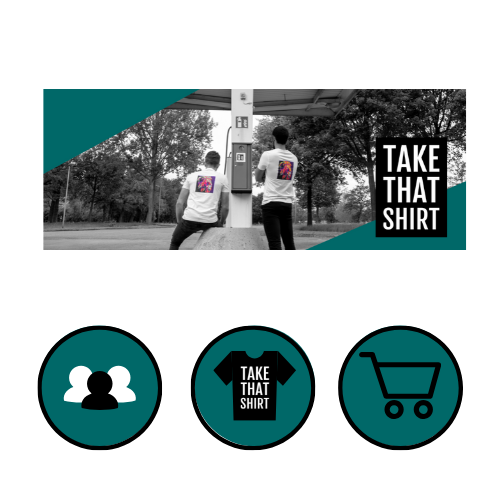 Take That Shirt Media design